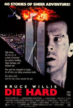 CAST: Bruce Willis, Bonnie Bedelia, Alan Rickman, Alexander Godunov, Paul Gleason, William Atherton, Reginald Vel Johnson, Hart Bochner, James Shigeta, Mary Ellen Trainor, De'voreaux White, Robert Dav