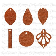 Leather Earrings Template SVG, DXF,JPG, PDF THIS LISTING IS FOR A INSTANT DIGITAL DOWNLOAD. *** If you have any trouble with the files or you are unhappy for any reason please contact me and I will happily work with you to get it resolved. If you have any comments, suggestions or