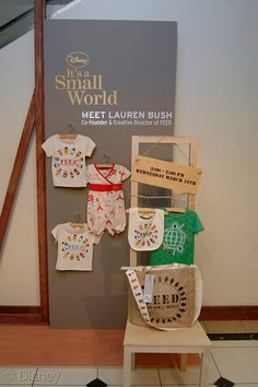 A Launch Party for the It's a Small World Clothing Line | Magical Day Parties | A Fan Site Celebrating Disney Themed Events