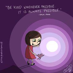 Palasia sateenkaaresta: Be Kind