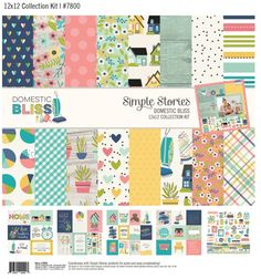 Lovely collection from #simplestories  called #DomesticBliss