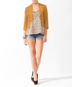 shorts and heels hello! casual chic - LOVE21