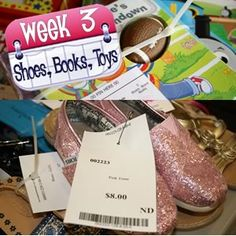 Consignment Sale Countdown: A Four Week Plan to Organize Your Sale Items