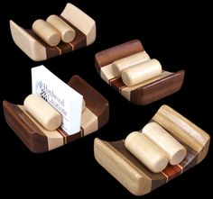 David Levy (Hardwood Creations) - Hardwood Business Card Holder