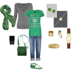 St. Patty's Time, created by michele1546.polyvore.com