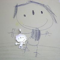 Turn kids drawings into jewlery