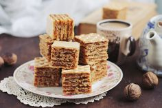 si caramel(A. Romanian Food, Creme Caramel, Gingerbread, Nom Nom, Bakery, Cooking Recipes, Sweets, Cookies, Breakfast