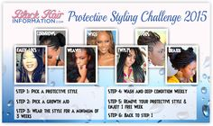 Join The Protective Styling Challenge 2015 - Black Hair Information