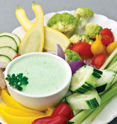 George Stellas low carb green goddess dip and vegetables Healthy Snacks, Healthy Eating, Healthy Recipes, No Carb Recipes, Cooking Recipes, Low Carb Dressing, Low Carb Sauces, Low Carb Appetizers, George Stella