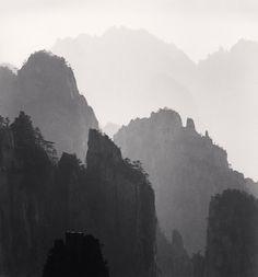 Michael Kenna - Huangshan Mountains, Study 10, Anhui, China, 2008