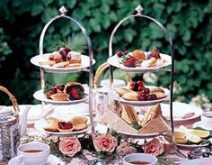 The Etiquette of Afternoon Tea  from CatherinesAfternoonTea.com