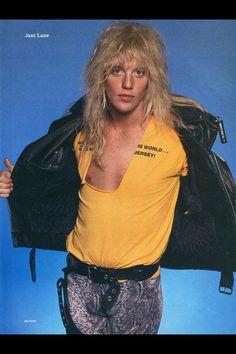 80s Hair Metal, Hair Metal Bands, 80s Hair Bands, Jani Lane, 80s Rock Bands, Rock Hairstyles, Glam Metal, Very Long Hair, Classic Rock