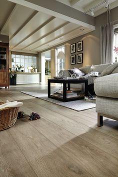 Laminat | Melango | LD 300 | 20 | Eiche sand | 6435 | Holznachbildung – Wohnzimmer gemütlich Landhaus MEISTER