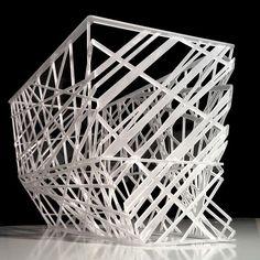 Netlight Collections : Netlight by heri&salli A steel construction combined with a Plexiglas ...