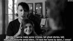 Marilyn Manson. Sounds like my friends.