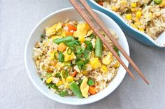 Seasaltwithfood: Scallion And Ginger Fried Rice