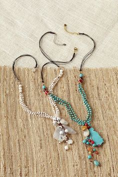 Beaded Stone Pendant: Exceptional Casual Clothing for Men & Women from…