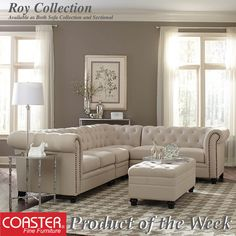 Our Roy Collection is so versatile that you can get it as a sofa collection or a sectional! (Item# 500222)  Shop this look and more by finding an authorized dealer near you using our link below:  http://www.coasterfurniture.com/browsestoresbymarket.aspx  #Decor #HomeDecor #HomeImprovement #HomeMakeover #HomeFurnishing #HomeGoals #InteriorDesign #Interior123 #InteriorDecor #HomeStyle #HomeInspiration #HomeInspo #DesignInspo #FurnitureDesign #LivingRoom #Sofa #Loveseat #Chair #Sectional…