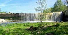 Jägala waterfall. Estonia http://www.veeseire.ee/search/label/Pildialbum