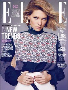 Lea Seydoux is ELLE UK June Cover Star | News | The FMD #lovefmd