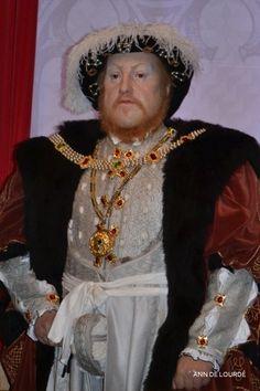 Henry VIII, King of England, Summer 2013, Madame Tussauds London.