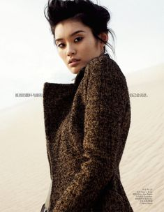 Army Chic – Photographed for the September issue of Vogue China, Ming Xi is army strong in Benny Horne's desert-located images featuring military inspired… Fashion Shoot, Editorial Fashion, Women's Fashion, Fashion Ideas, Fashion Editorials, Funky Fashion, Ladies Fashion, Fashion Images, Fashion Pictures