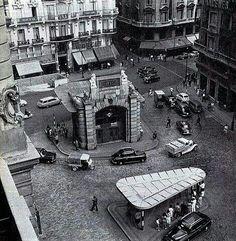Calle Montera, Red de San Luis, Metro Gran Vía, MADRID