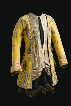 Textil para la representación de  Le Pavillon d'Armide. Diseño de Alexandre Benois.