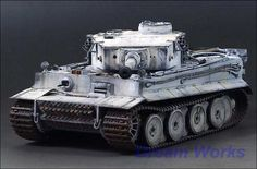 German Tiger Heavy Tank Wittman`s Top building quality with outstanding details throughout whole model and very high standard accuracy on every individual part. Snow Tiger, Tiger Tank, Model Tanks, Military Modelling, Ww2 Tanks, Military Diorama, Tamiya, Plastic Models, Scale Models