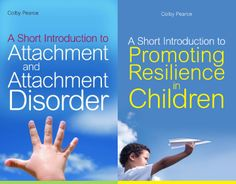These two short introductions from expert author Colby Pearce are bestsellers for parents and professionals caring for children; especially those that may have had a difficult start in life.  Find out more about 'A Short Introduction to Attachment and Attachment Disorder' here: http://www.jkp.com/catalogue/book/9781843109570 And to find out more about 'A Short Introduction to Promoting Resilience in Children', click here: http://www.jkp.com/catalogue/book/9781849051187
