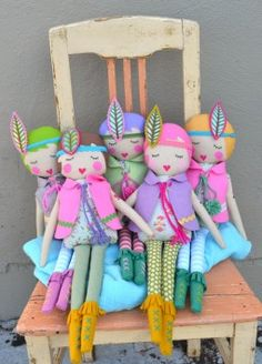 Lauri marie.  These are so cute.  They look like little flappers!