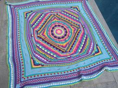 "Sophie's Universe CAL 2015 from Look At What I Made Cotton 8*.  I cannot believe I managed to do this many stitches I am so proud of myself and also want to thank Dedri Uys for her unbelievable pattern and tutorial I am now well and truly ""hooked"" To anybody who thinks they can't manage it I say have a go and me amazed at your creativity"