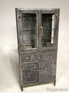 fab rehabbed display cabinet