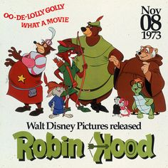 Robin Hood and Little John walked through the forest and into theaters on this day in 1973.