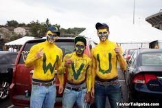 WVU body paint!