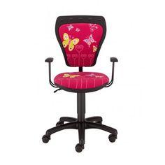 Детски стол CARTOONS Line GTP Butterfly - Розов