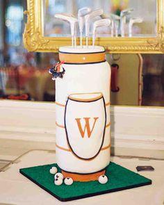 Groom's Cake Ideas  |  Tee Up