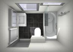 douchen in bad kleine # badkamer more thorbeckelaan badkamers badkamer ...
