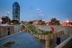 'public farm 1' by WORKac plants urban farm in MoMA PS1 courtyard