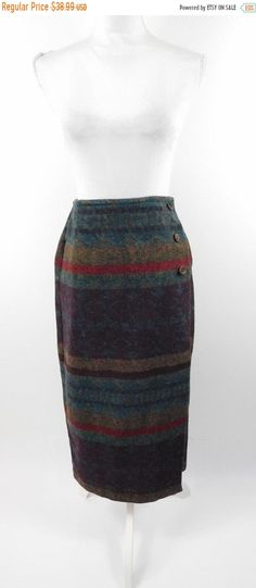 60/% BIG XMAS SALE Vintage 90s Marmie West Burgundy Tribal Geometric African Print Boho High Elastic Waist Summer Long Shorts Sz Medium