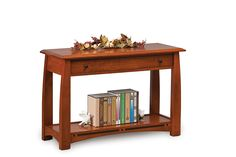 The Boulder Creek Open Sofa Table is part of the Boulder Creek Collection.