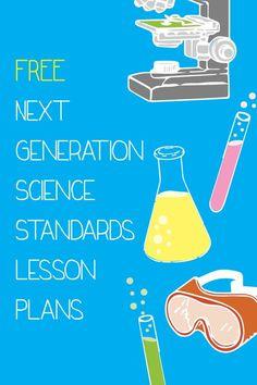 Free Next Generation Science Standards Lesson Plans! #Teachers