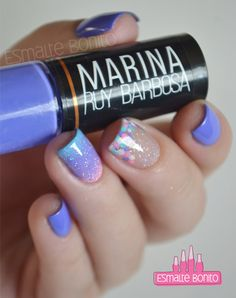 Delicate Mani - Cute Nails - Gradient Nails - Polka Dots