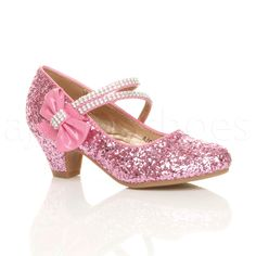 75d60568a77c Girls Heel Shoes Hello kitty Sandals 2016 New Children Shoes High Heels  Princess Bow Sweet Sandals Beaded Shoes For Girls in 2019