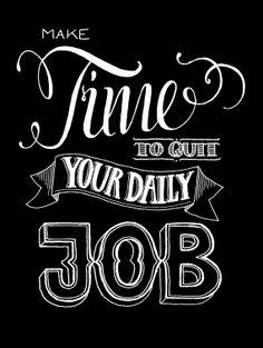 Beenden Sie Ihre tägliche Arbeit  Motivational von hellopetie, €12.90