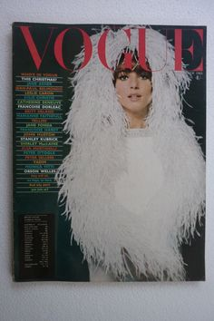 Vogue December 1965 Elsa Martinelli Catherine Deneuve Francoise Hardy Jane Fonda | eBay