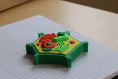 Multi-Color Mini Plant Cell by MosaicManufacturing - Thingiverse