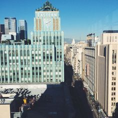 View from the Ace Hotel, Downtown. http://www.instagram.com/lusttforlife