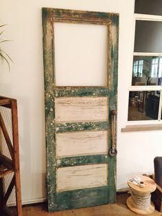 Old vintage door  Interior design  Wood colors