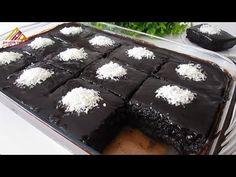 BOL SOSLU KOLAY ISLAK KEK TARİFİ💯LEZZETİNİN SIRRI SOSUNDA GİZLİ BU TARİFTEN ŞAŞMAYIN GERÇEK ISLAKKEK - YouTube Brownies, Food And Drink, Sweets, Desserts, Cakes, Youtube, Moist Cupcakes, Lolly Cake, Arabic Recipes